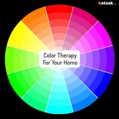 What does color therapy say about wall colors?