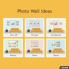 INFOGRAPHIC-Your Cheat Sheet to Photo Gallery Ideas !